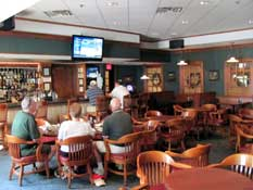 Sports bar at Cypress Bend Resort