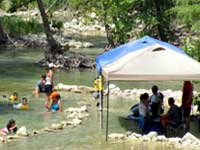 Enjoying the Frio River