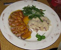 Delicious pork tenderloin