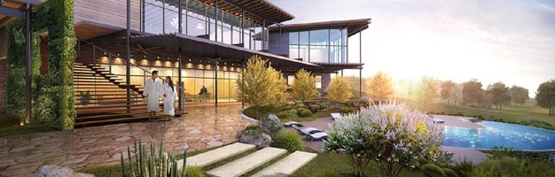 New Spa and Fitness Center at  La Cantera
