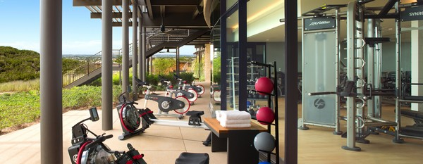 Fitness Center at Loma de Vida Spa