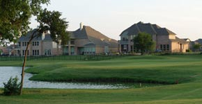 Woodbridge golf course homes