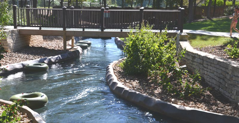 Lazy River at the Hyatt Hill Country