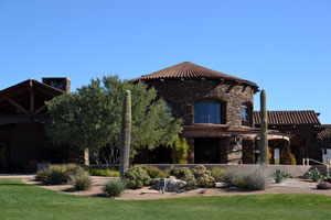 Club house at the Dove Mountain Golf Club