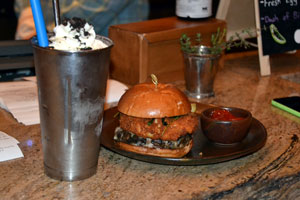 Shake & Burger at Cayton's at The Ritz Carlton Dove Mountain