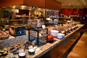 Buffet at The Ritz Carlton Dove Mountain