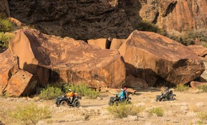 ATV tour in  Terlingua