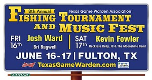 Texas Game Wardens Fishing Tourniment and Music Festival