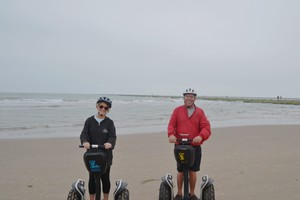 Segways on the beach at South Padre Island
