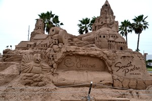 Sandcastle in South Padre Island