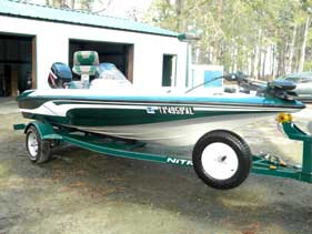 Soaring Eagle Fishing Boat Rental on Sam Rayburn