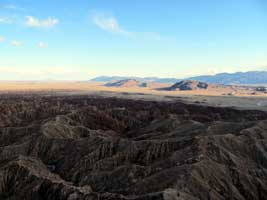 View of the badlands from Font's Point