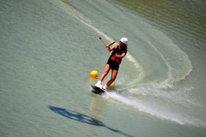 Wakeboarder at BSR