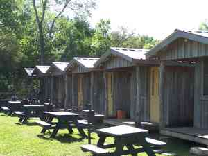 Creek harbor fish camp review and rating for Cottages at camp creek