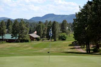Ponderosa Golf Hole at Pagosa Springs