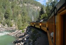 Durango to Silverton Train ride