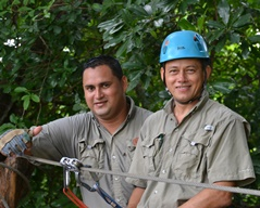 Our zipline guides