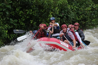 White Water Rafting with Desafio