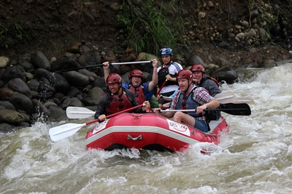 Rafting with Desafio in Costa Rica