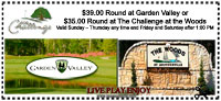 Garden Valley Golf Course Discount Coupon