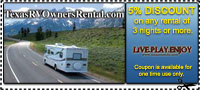 RV Rental Coupon