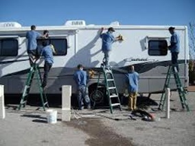 RV wash and detailing in Austin