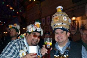Weird hats at Wurstfest