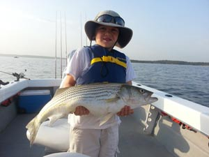 What 39 s new on texas outside for Lake texoma fishing guides