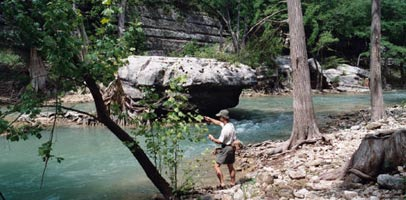 Guadalupe river fishing guides for Guadalupe river fly fishing