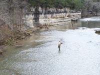 Fly fishing the Guadalupe
