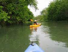 Kayaking the San Saba