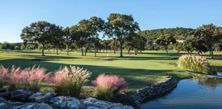Golf hole at Tapatio Springs Hill Country Resort
