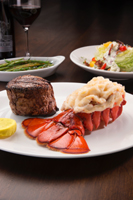 Surf and Turf at Robards Steakhouse