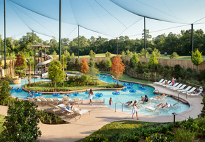 Lazy River at the Woodlands Resort