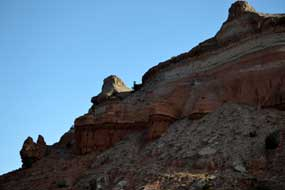 Unusal rock  formations in New Mexico