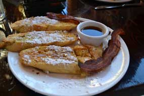 French toast for breakfast