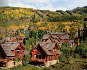 Private homes at Mountain Lodge at Telluride