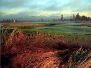 Crosswater golf course at Sunriver