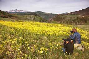 Photo tour with Telluride Outside