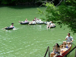 Upper guadalupe river map for Floating the guadalupe river cabins