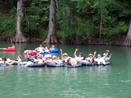 Lower guadalupe river map for Floating the guadalupe river cabins