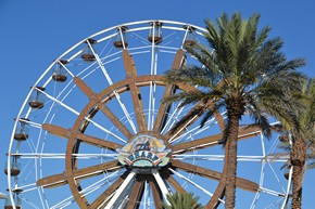The Wharf ferris wheel in Orange Beach