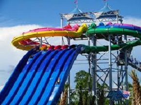 Waterville Waterpark slide