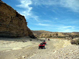 West texas off road atv tour for Atv parks in texas with cabins