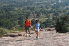 Hike The Rock Enchanted Rock And Enchanted Rock State