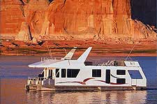 Houseboating.org houseboat on Lake Powell