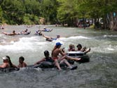 Tubing the Guadalupe