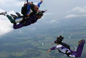 Sky diving - give it a try!