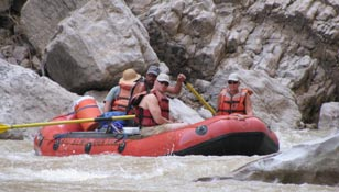 Rafting the Rio Grande with Big Bend River Tours
