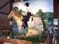 Texas Ranger Hall of Fame exhibit